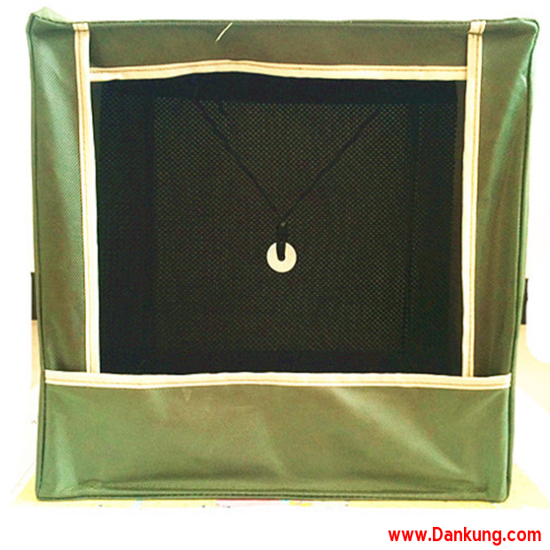 green slingshot catchbox