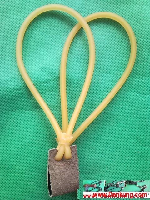 Dankung style 20 40 slingshot bands 4 strand